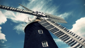 Picture of the mill sails