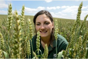 Abigail Erian, Trainee Farm Manager, National Trust Wimpole Home Farm